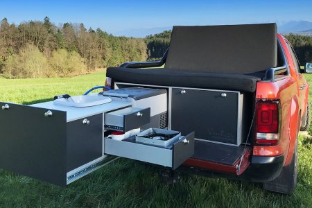 Your Pickup. A Parking Lot. This Tailgating Kitchen.