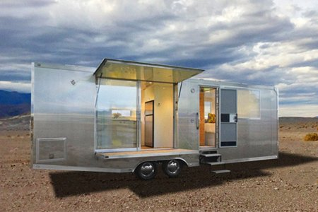 The Living Vehicle Offers a Footprint-Free Month in the Wild