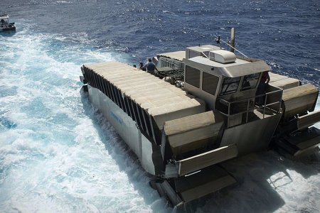 This Amphibious Beast Can Haul 3 Tanks Over Mud, Sand or Water