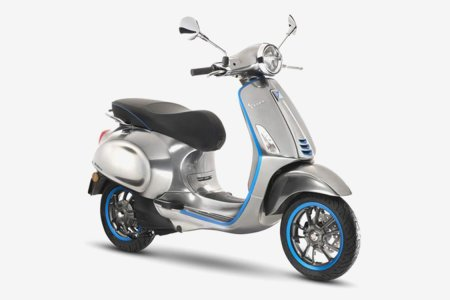 Vespa's First Electric Scooter Is Finally Coming but You Won't Hear It
