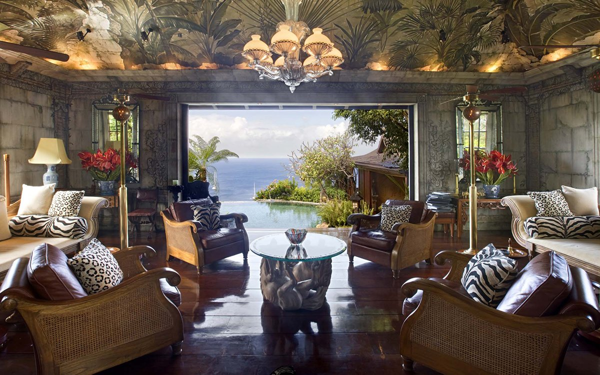 David Bowie's Ridiculous Caribbean Villa Is Accepting Visitors