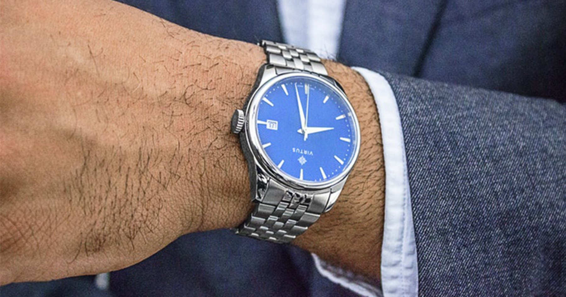 The Virtus V1 Is an Affordable Swiss-Made Watch by a Local Company