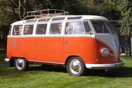 This 23-Window VW Samba Is a Collector's 'Holy Grail'