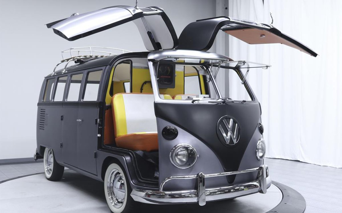 Marty McFly's VW Bus Would Have Gullwing Doors