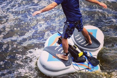 If Marty McFly Had a Stand-Up Paddleboard, It'd Look Like This