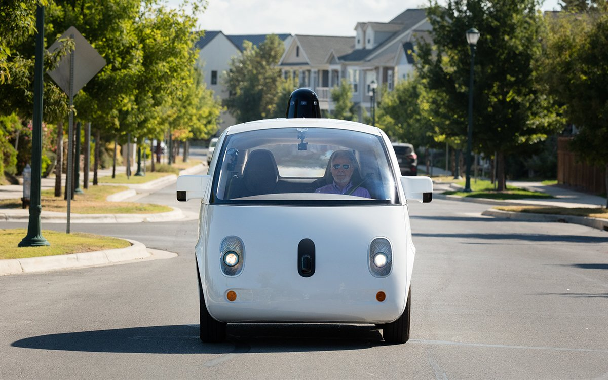 Google Just Gave a Blind Man the Keys to Its Driverless Car
