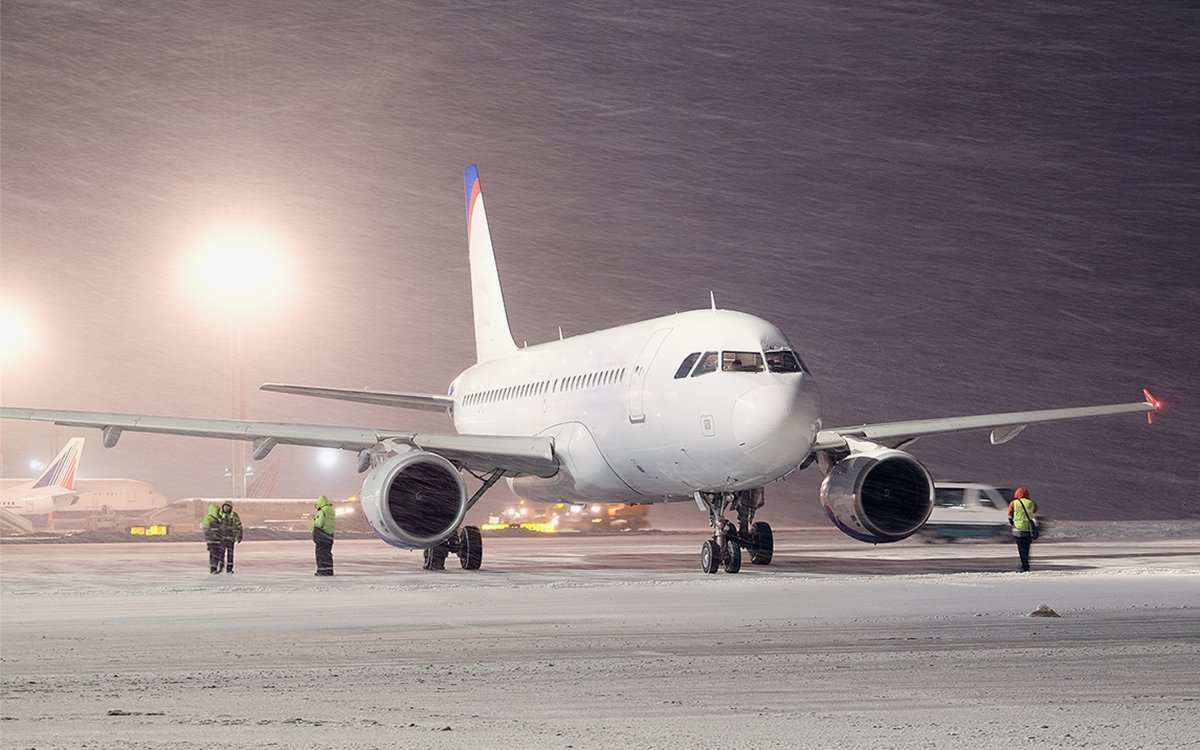 For Once, Some Good News About Winter Plane Travel