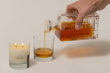 Let's Be Honest: Whiskey-Tumbler Candles Are a Fantastic Idea