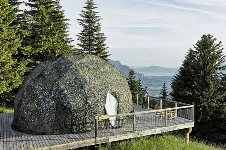 Just an Idyllic Settlement of Swiss Cabins You Can Rent
