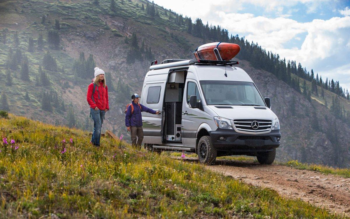 Winnebago's New 4×4 Campervan Goes Where No Winnie Has Gone Before