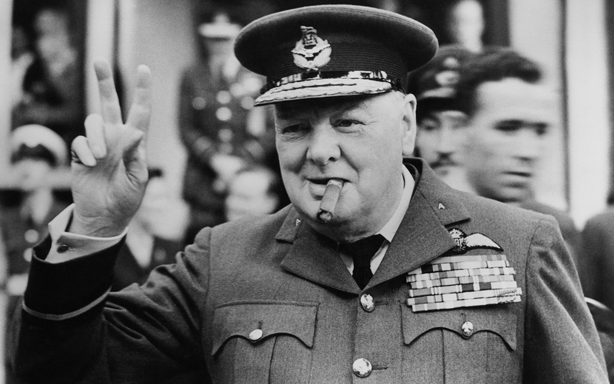 Winston Churchill's Guide to the World
