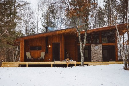 Secret Wisconsin Getaway Involves Campfires, Hot Tubs