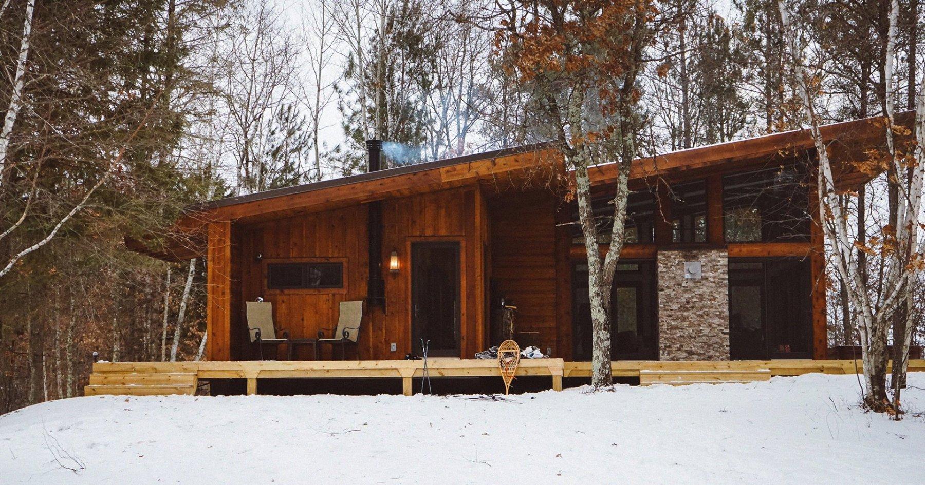 Secret Wisconsin Getaway Involves Campfires, Hot Tubs
