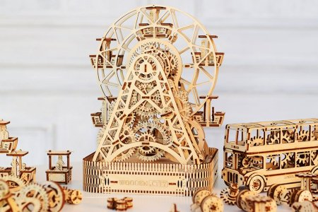 You Know You Want to Build a Tiny Wooden City