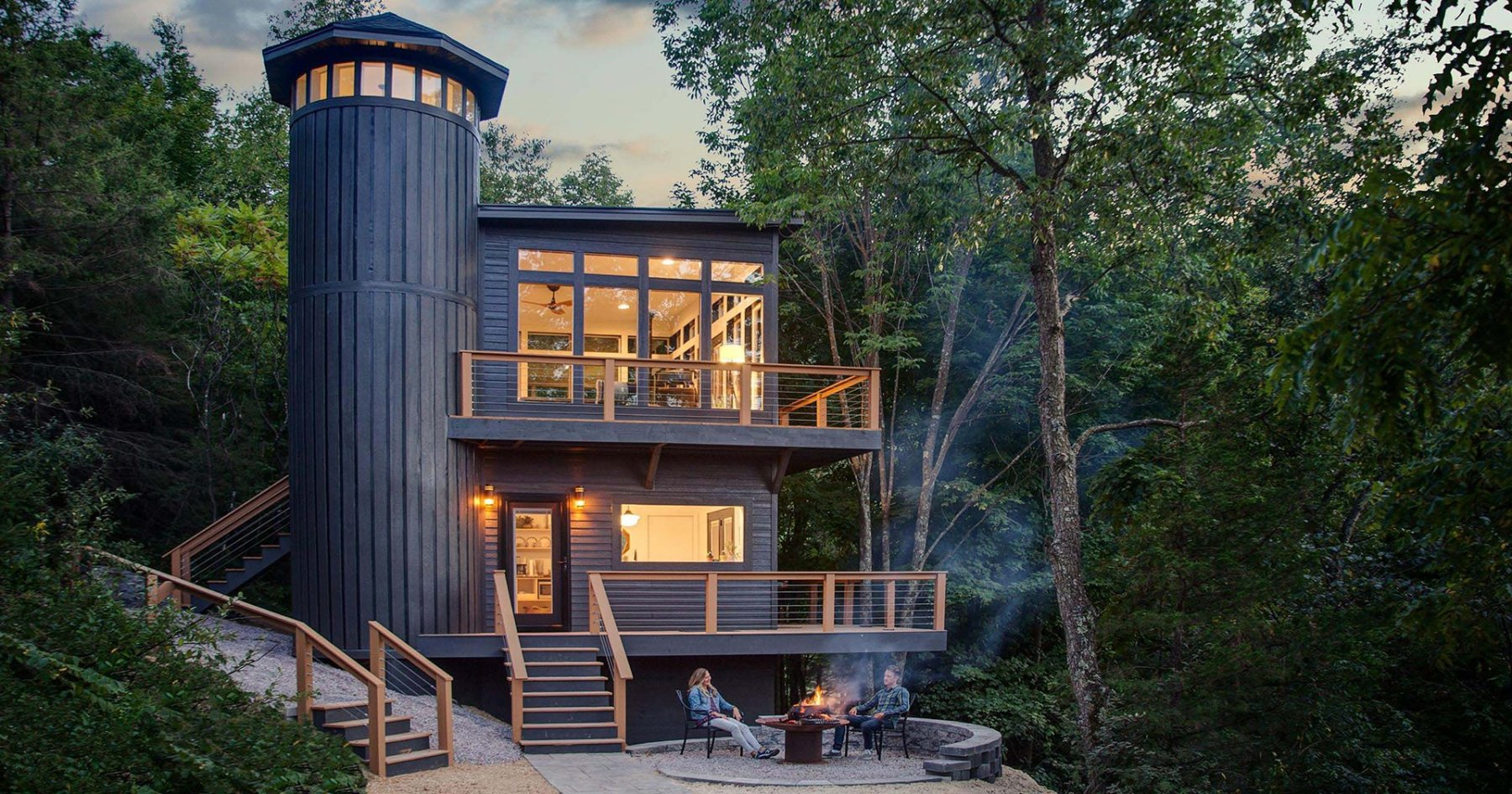 The Castle-Cabin of Your Dreams Is Finally Open for Bookings