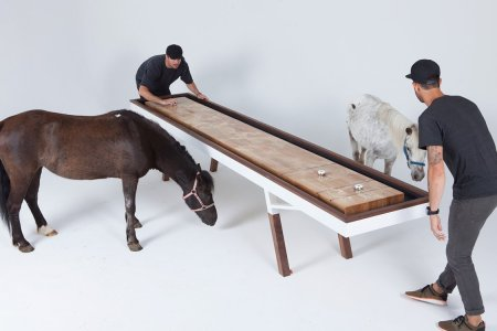 This Shuffleboard Table Is So Beautiful It Deserves Its Own Room