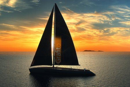 The World's Sexiest Sailing Vessel Is Made From a 'Miracle Material'