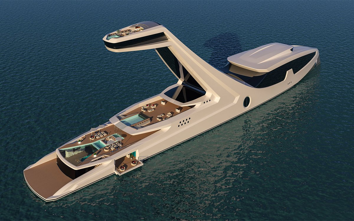 Shaddai The World S Largest Concept Superyacht Insidehook