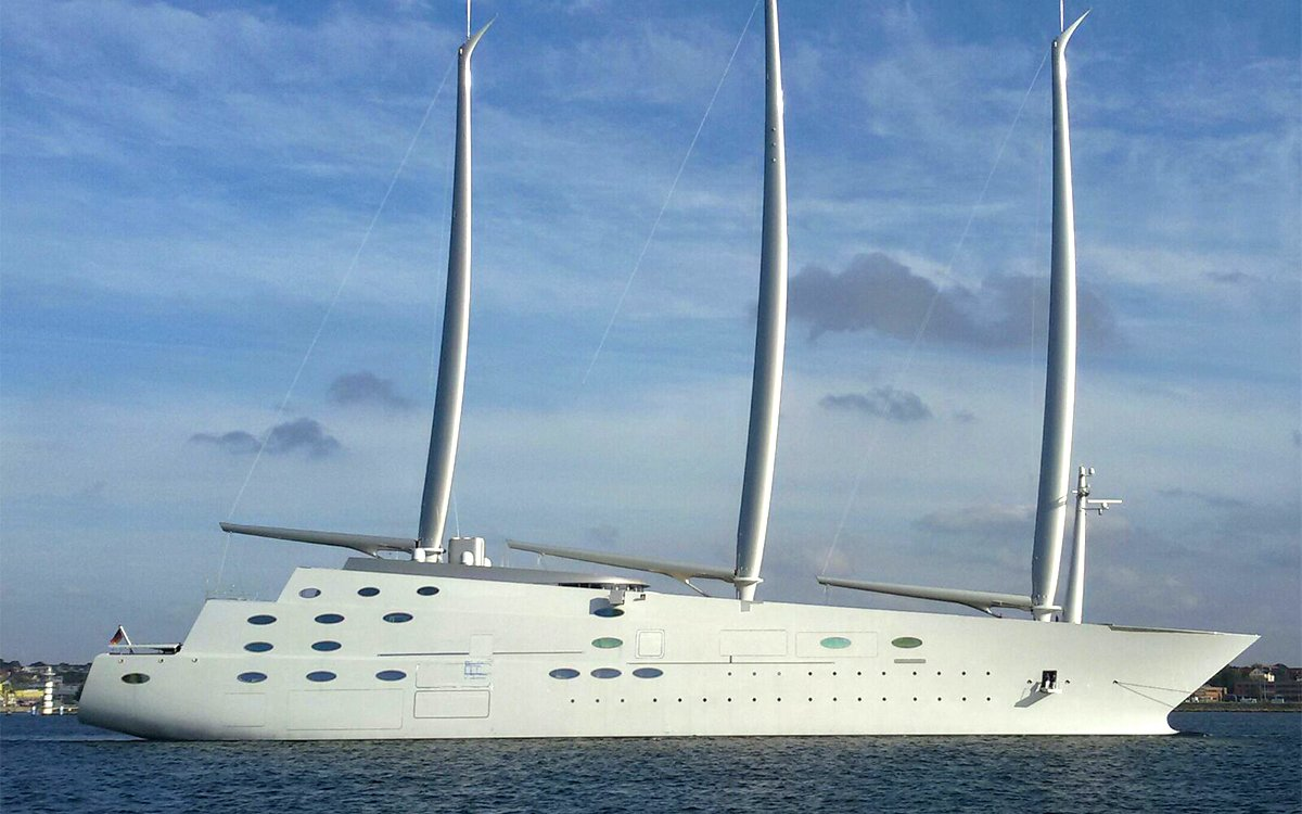 Russian Oligarch Commissions 468-foot 'Sailing Yacht'