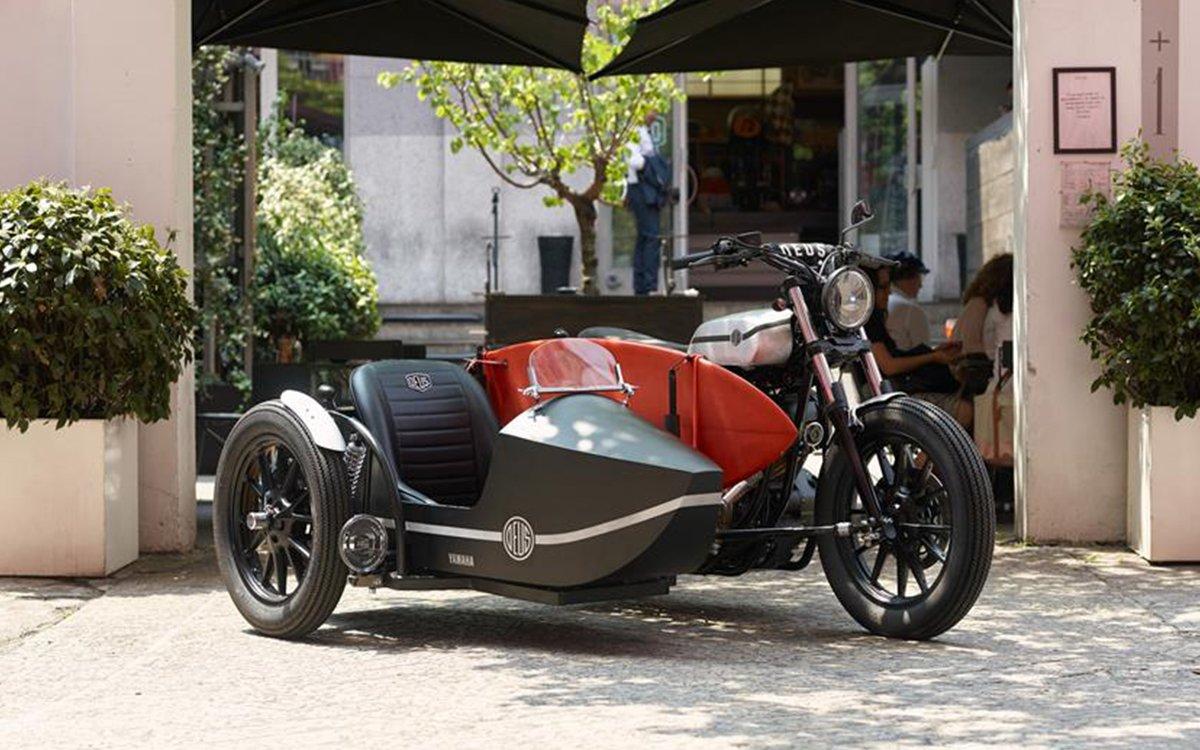 Deus Ex Machina Sidecar D-Side Bike for Yamaha Yard Built - InsideHook