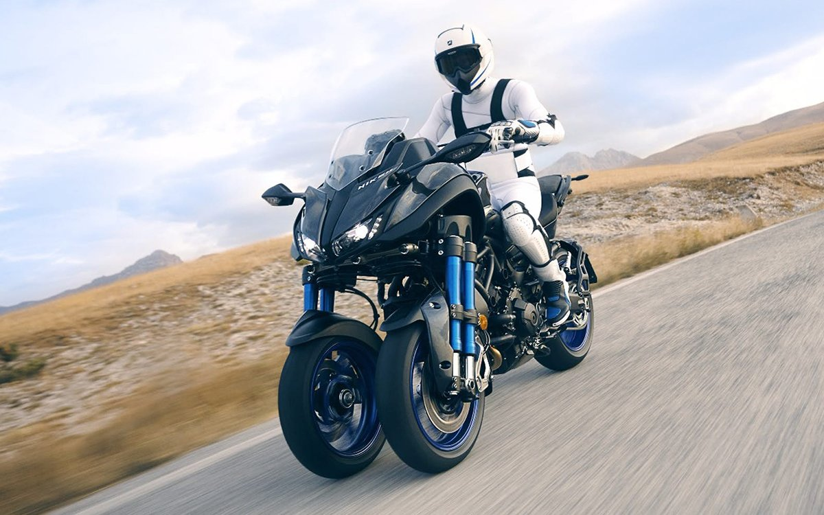 Yamaha Is Dead Serious About Putting Its Tilting Trike Into Production