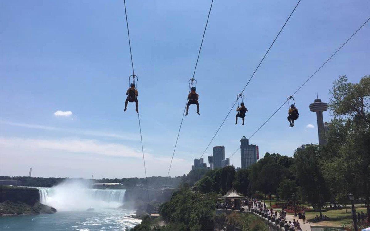 Niagara Falls Finally Has Ziplines. See You There.