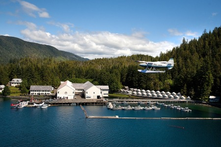 Win a Four-Day, Three-Night Stay at Waterfall Resort in Alaska