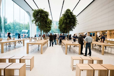 Welcome to Jony Ives's Apple Store
