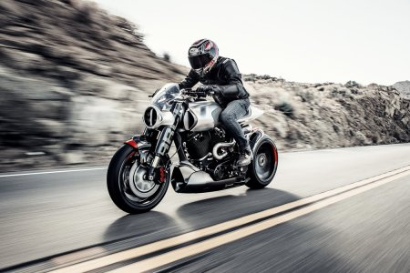 Keanu Reeves's Second Motorcycle Is a Carbon Fiber Wondermobile
