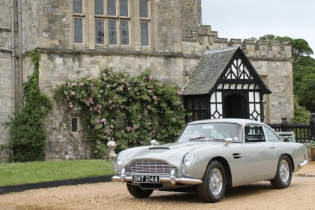 "Class Up the Driveway With Pierce Brosnan's ""GoldenEye"" Aston Martin?"