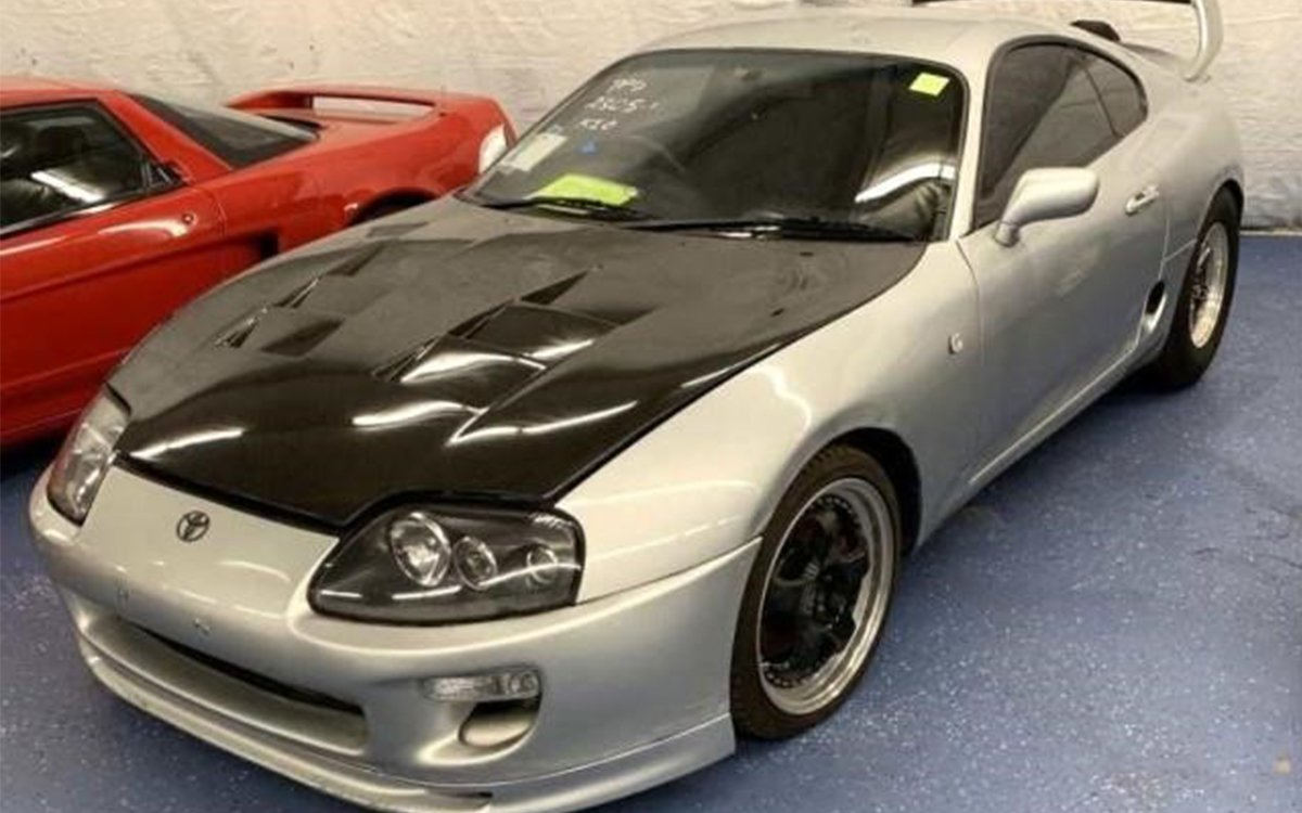 Want a Rare '90s Import Car? Browse This U.S. Marshals Pot Bust Auction.