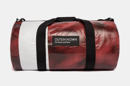 These Duffels Were Made From a Defunct Bay Bridge Billboard