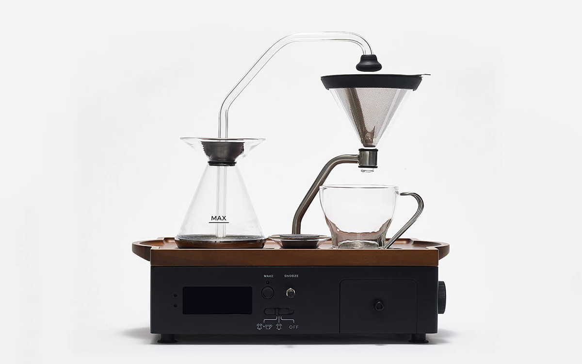 The Best Part of Waking Up … Is Obviously This Coffee-Making Alarm Clock