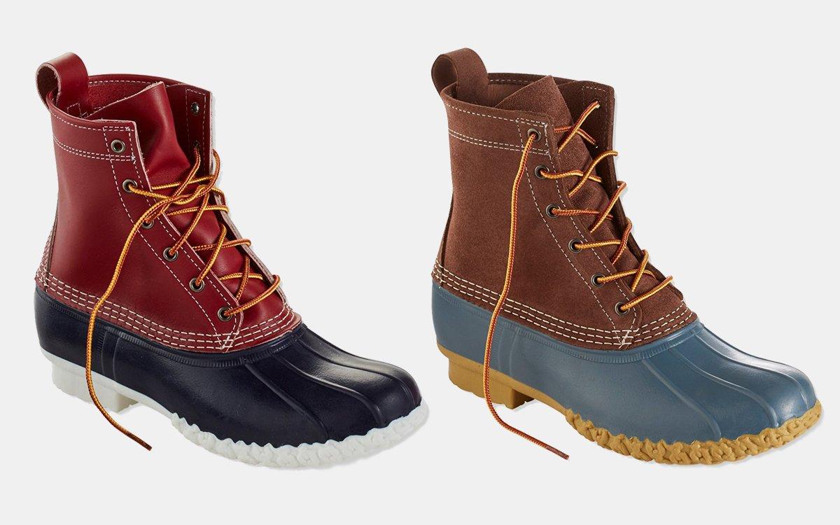 30865c44158 Small-Batch L.L. Bean Duck Boots for Men, Women on Sale - InsideHook