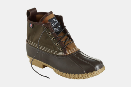 L.L. Bean Just Tweaked Their Iconic Bean Boot for Rainy-Day Wear