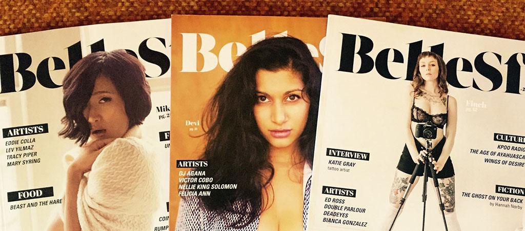 Belle SF Bay Area Nude Magazine