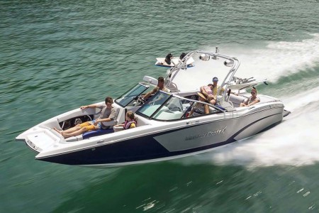 This Boat Is Every Wakeboarder's Wet Dream