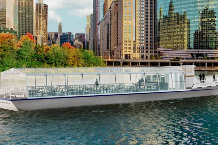 It's a Riverboat Called the Odyssey. Oh, It's Also a Restaurant.