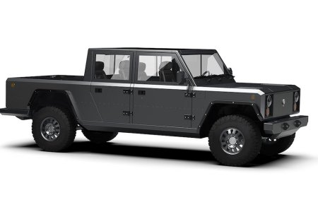 Bollinger's Second Model Is a Land Rover-Inspired Electric Pickup