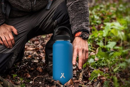 Bear Grylls Made a Water Bottle That Stays Ice-Cold for 24 Hours