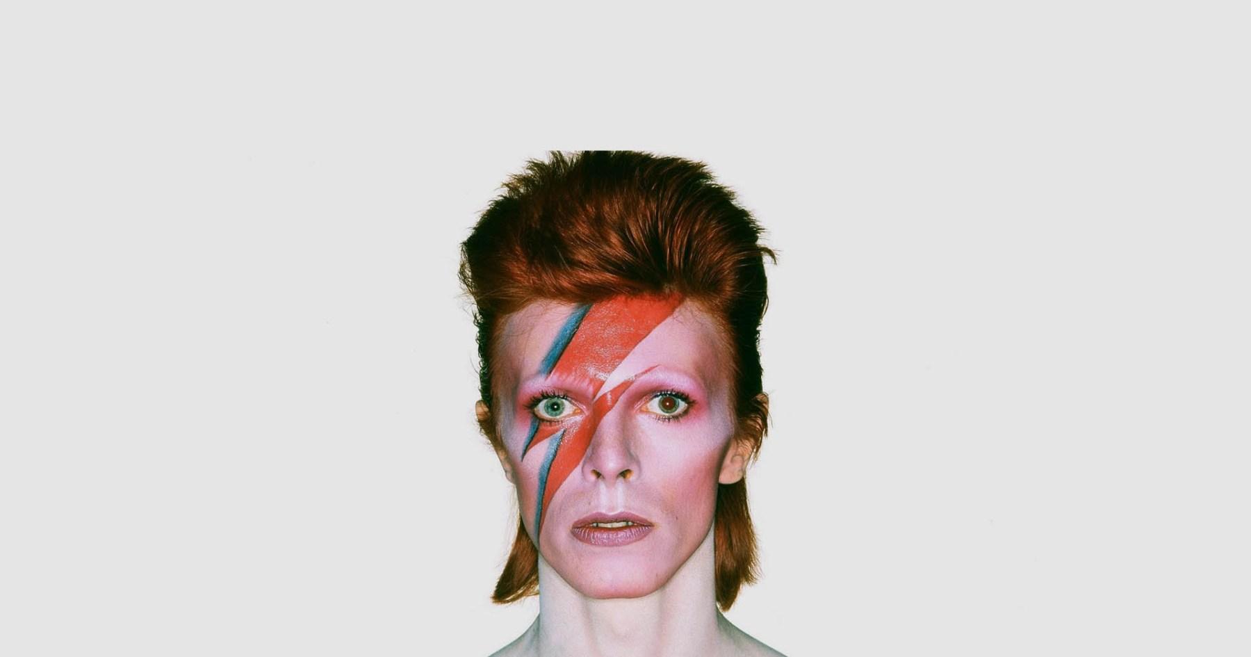 Ziggy Stardust's Duds On Display