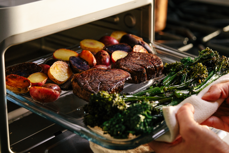 This Countertop Oven Cooks Twice as Fast as Your Normal One
