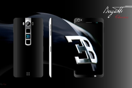 Here's What a Bugatti Smartphone Might Look Like