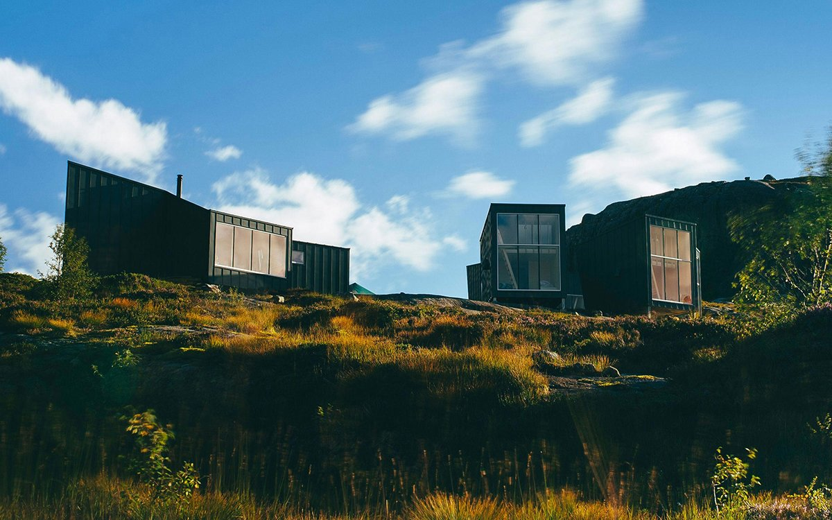 This Remote Cabin Colony Sleeps Up to 35 in Stylish Austerity