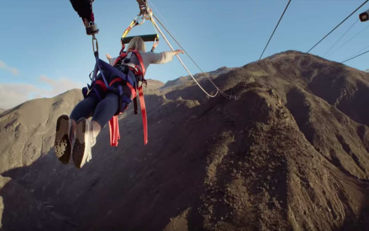 New Zealand's Newest Attraction Is a Literal Human Catapult