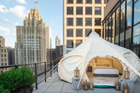 Here's Your Three-Step Plan for a Day of Urban Camping in Chicago