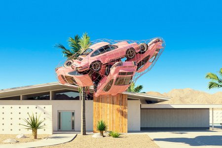 In Chris Labrooy's Palm Springs, Porsches Park Wherever the Hell They Want