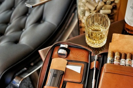 This Leather Cigar Tote Is a Murse We Can Get Behind