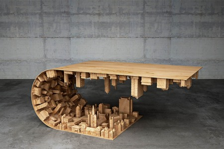 The Coffee Table of Your Dreams. And Leonardo DiCaprio's.