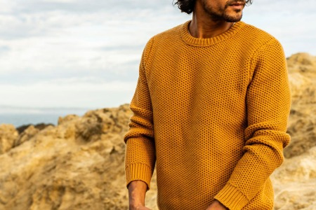 Outerknown's Incredibly Soft Organic Cotton Sweater Is Back in Stock